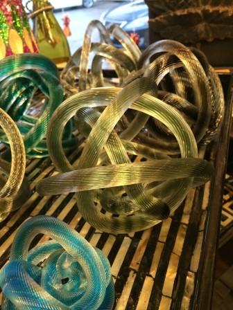 Handblown Glass Knots - $24