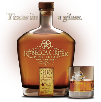 Rebecca Creek Fine Texas Spirit Whiskey - $27.99 image via rebeccacreekwhiskey.com