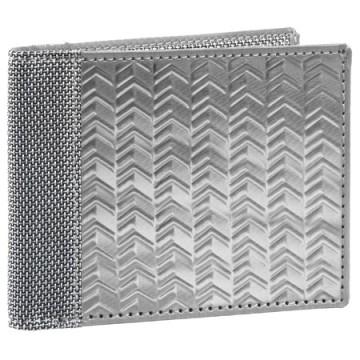 Steward/Stand Stainless Steel Bill Fold in Herringbone- $68 image via speranzaonline.com