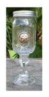 12 days of gifting: star concho texas wine glass at wild bill's western store