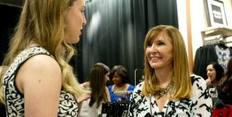 Fashion Designer Nicole Miller Appearance At JCPenney