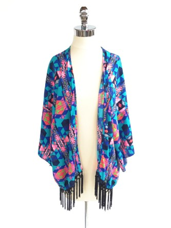 Bright Bazooka Kimono