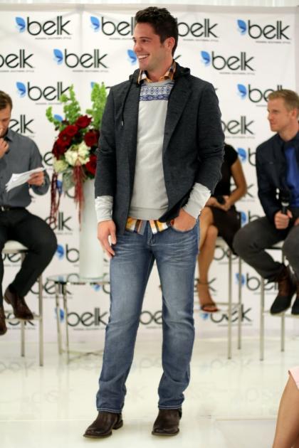8_Belk Galleria Dallas, Aug. 20_Model Devin Way, Look 2-Rugged Individualist