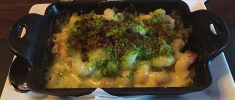 Hatch Chile & Bacon Mac n Cheese - perfect for sharing with friends